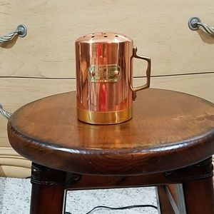 Other - Copper and brass cheese shaker